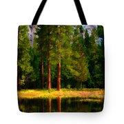 Landscape Poster Tote Bag