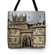 Lincoln England United Kingdom Uk Tote Bag