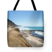 Pacific Ocean Big Sur Coatal Beaches And Landscapes Tote Bag