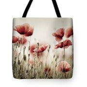 Poppy Dream Tote Bag
