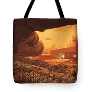 Saga Star Wars Poster Tote Bag