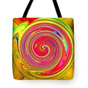 Software Abstract Tote Bag