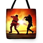 Star Wars Old Art Tote Bag