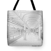 Train Station Series Tote Bag