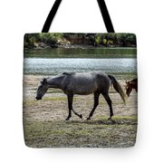 Wild Mustangs Tote Bag