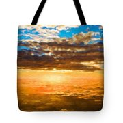 Landscape Paintings Nature Tote Bag