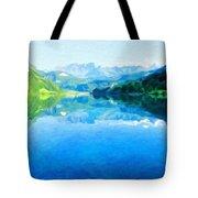 Nature Landscape Artwork Tote Bag