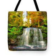 Nature Landscape Graphics Tote Bag