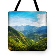 Landscape Nature Art Tote Bag