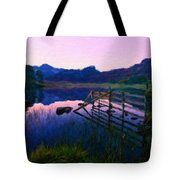 Nature Oil Painting Landscape Images Tote Bag