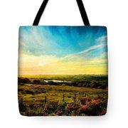Landscape Nature Scene Tote Bag
