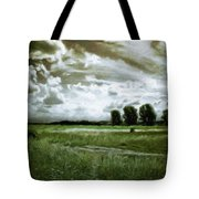 Landscape Oil Painting Nature Tote Bag