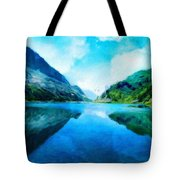 Nature Work Landscape Tote Bag