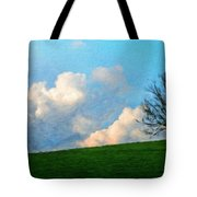 Nature Landscape Painting Tote Bag