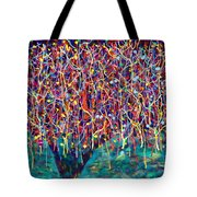 14-26 Green Forest Tree Tote Bag