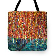 14-50 Autumn Tree Tote Bag