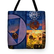 Abstract Painting - Zinnwaldite Brown Tote Bag