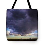 Afternoon Nebraska Thunderstorm Tote Bag