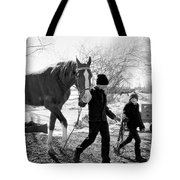 Amish Life Tote Bag