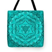 Birth Mandala- Blessing Symbols Tote Bag