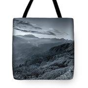 Chilly Winter Sunrise At Lunhgthang Sikkim West Bengal India Tote Bag