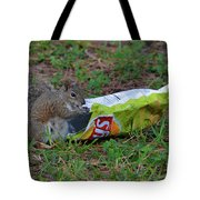 14- Chip Lovin' Squirrel Tote Bag