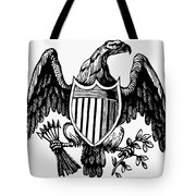 Eagle, 19th Century Tote Bag