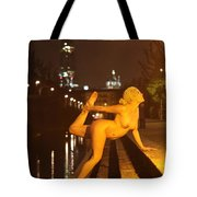 Elle Black Tote Bag