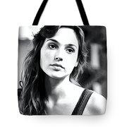 Gal Gadot Art Tote Bag