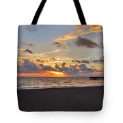 14- Juno Beach Pier Tote Bag