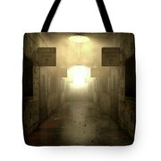 Mental Asylum Haunted Tote Bag