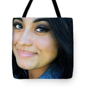 Native American Female. Tote Bag