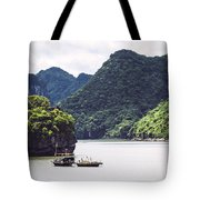 Picturesque Sea Landscape. Ha Long Bay, Vietnam Tote Bag