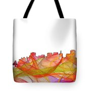 San Francisco California Skyline Tote Bag