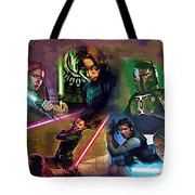 Star Wars Galaxies Art Tote Bag
