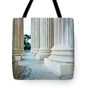Supreme Court Building Washington Dc Tote Bag