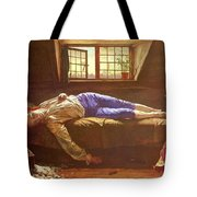 Wallis Henry The Death Of Chatterton Henry Wallis Tote Bag