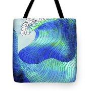 141 - Waves Tote Bag