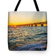 Nature Landscape Illumination Tote Bag