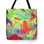 147 - Carrot Canyon Tote Bag