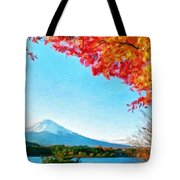 Nature Landscape Illumination Tote Bag