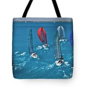 Miami Regatta Tote Bag