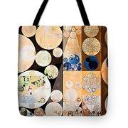 Abstract Painting - Seal Brown Tote Bag