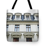Apartment Building Tote Bag