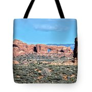 Arches National Park  Moab  Utah  Usa Tote Bag
