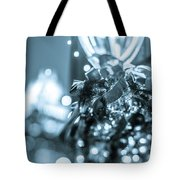 Christmas Lights Holiday Decorations Around Charlotte North Caro Tote Bag