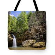 Hocking Hills Waterfall Tote Bag