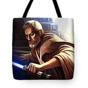 Jedi Star Wars Art Tote Bag