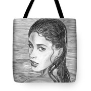 Wet Punk Tote Bag
