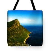 Landscape Drawing Tote Bag